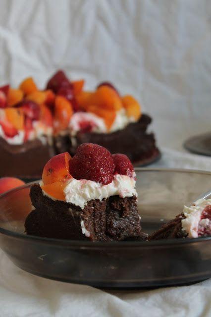 Piece of delicious time: Bezmączne ciasto czekoladowe