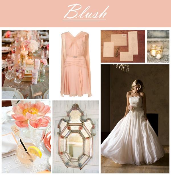 Blush Color Palette Wedding