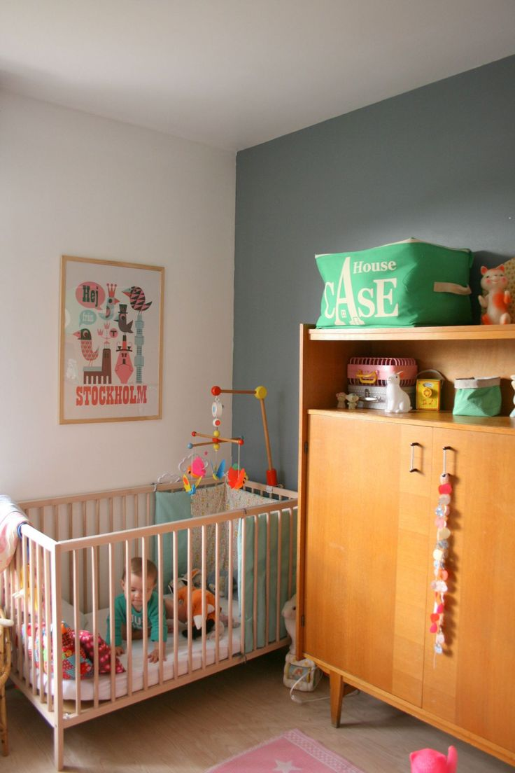 An adorable nursery.
