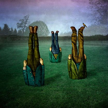 Surrealist Figures in a Setting - image: garden // maggie taylor - yr 9-11