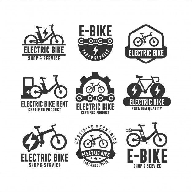 Tienda De Bicicletas Eléctricas Y Logoti Premium Vector Freepik Vector Ciudad Aptitud Depor Tienda De Bicicletas Tiendas De Bicis Bicicleta Electrica