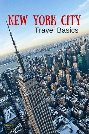 Travel Basics: Visit New York City - Peanuts or Pretzels