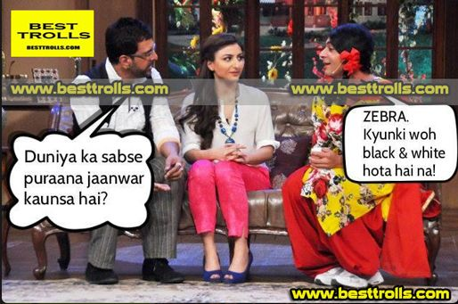 Gutthi-Comedy Nights With Kapil Trolls