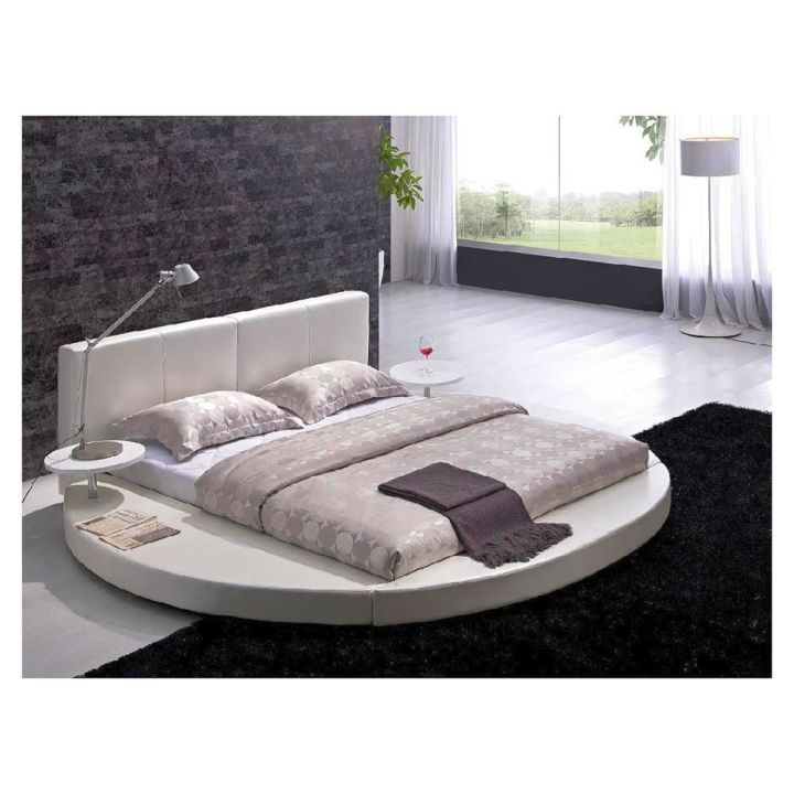 Round Bed Frame With Normal Mattress King Size