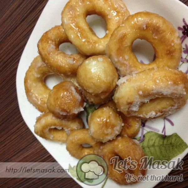 resepi donut lembut coklat rungon Resepi Donut Chef Wan Enak dan Mudah