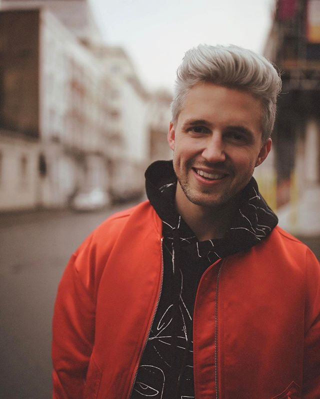 Marcus Butler and his new hair