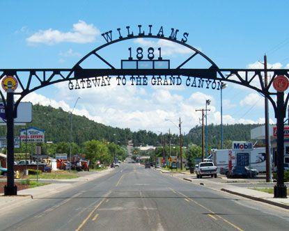 Williams, Arizona, Gateway to the Grand Canyon! http://www.experiencewilliams.com/