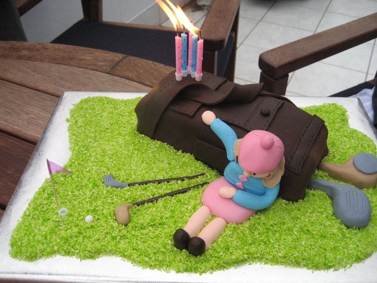 Golfing Girl Birthday