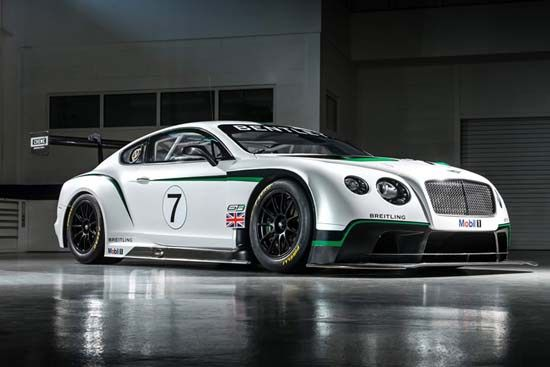 Bentley Continental GT3 Race Car Looks Beautiful And Brutal