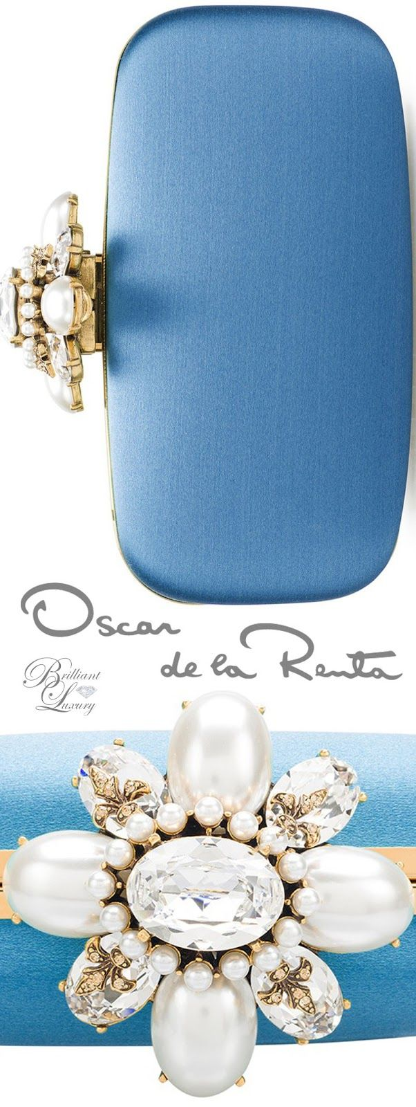 Brilliant Luxury * Oscar de la Renta Tanzanite Satin Cabochon Goa