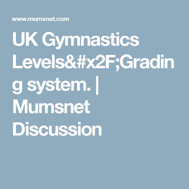 UK Gymnastics Levels/Grading system. | Mumsnet Discussion