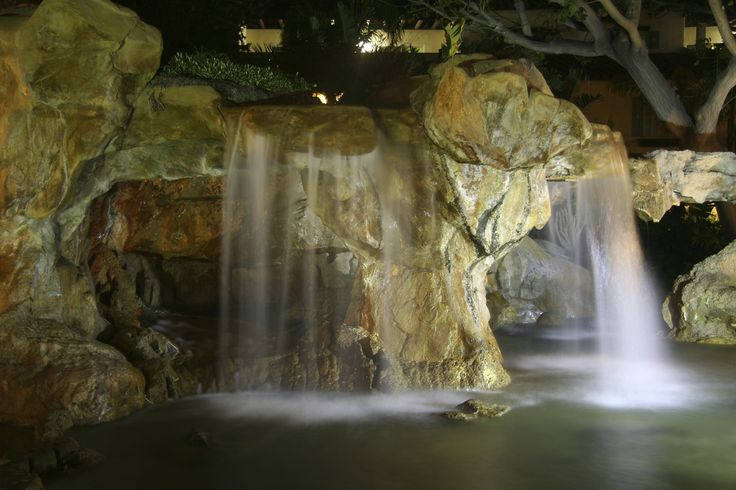 17 best images about artificial rock waterfalls on for Artificial water pond