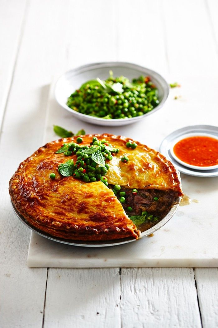 - Recreate an old classic with this beautiful recipe for melt-in-your-mouth lamb and minted peas.SLOW COOKED LAMB PIE