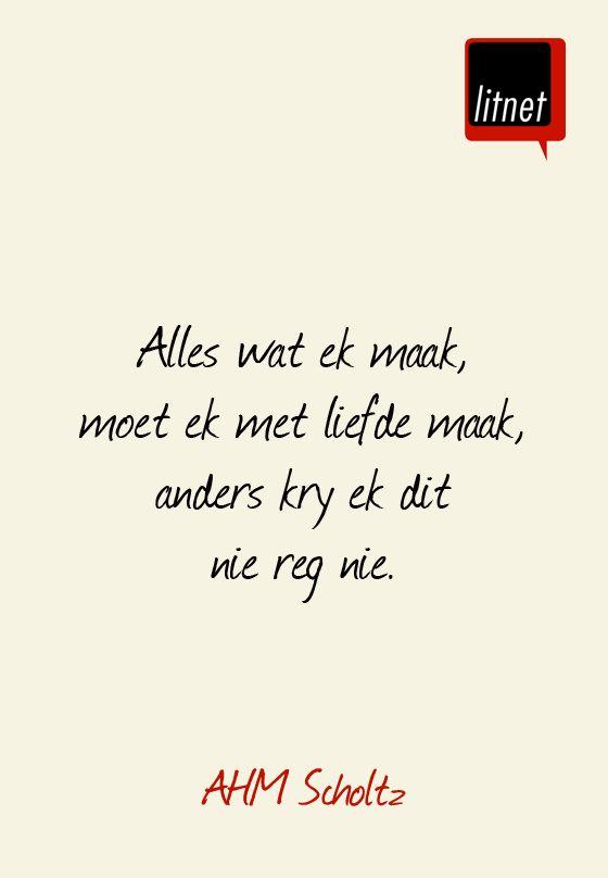 AHM Scholtz #afrikaans #skrywers #nederlands #segoed #dutch #suidafrika #litnet #skryf