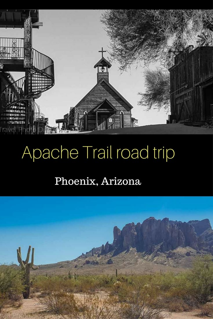 Driving the Apache Trail in Arizona