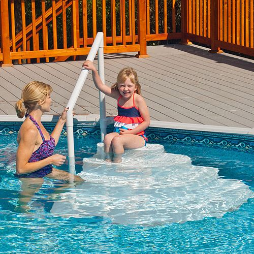 1000 ideas about pool steps on pinterest ground pools - Wetherby swimming pool swim times ...