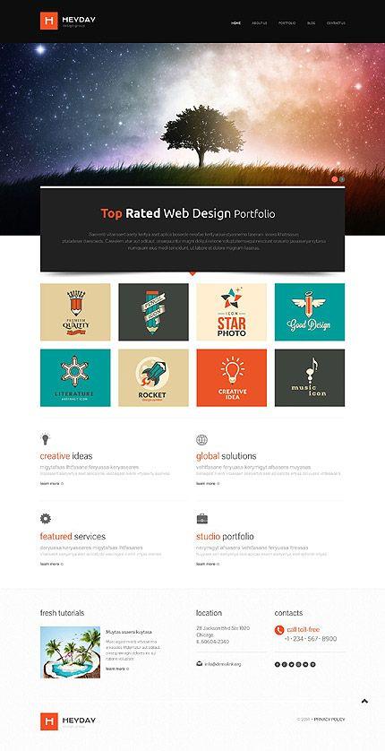 277 best Website Templates images on Pinterest | Wordpress template ...