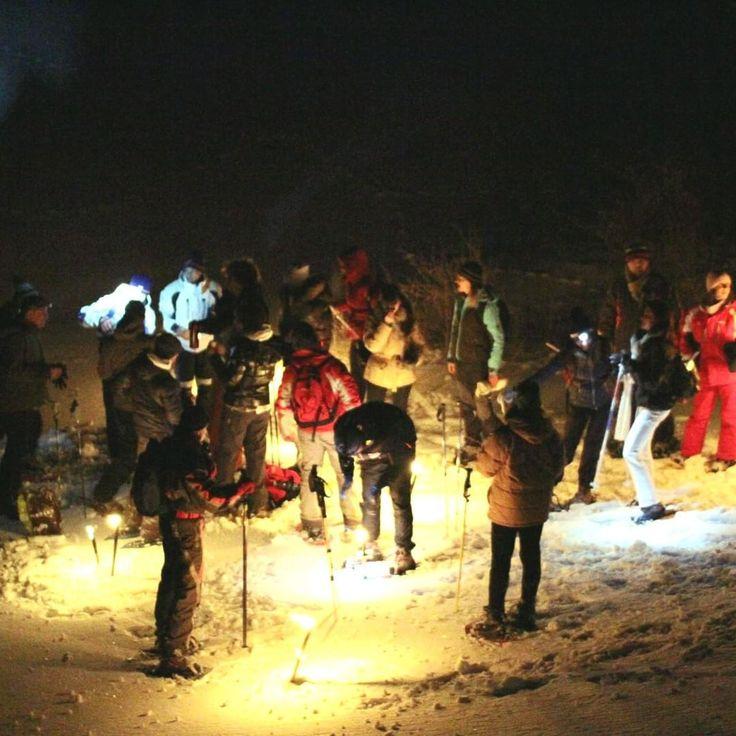 """""""Periodo di neve? Qui ci organizziamo con le CIASPOLATE cerca gli eventi che fanno per te sul portale"""""""