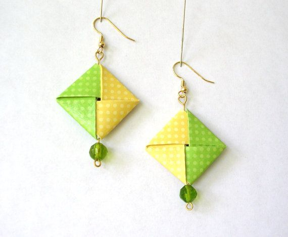 Best 25+ Origami jewelry ideas on Pinterest   Origami necklace ...