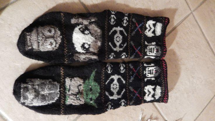star wars socks , chaussettes