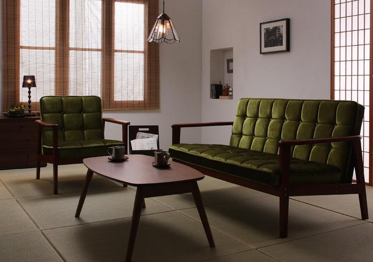 和室になじむソファ。憧れられる理想の部屋を実現するためのポイント