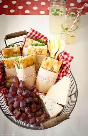 ピクニックサンドイッチラッピング方法・やり方