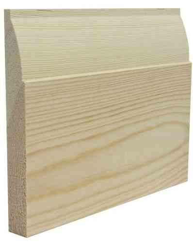 Ovolo Pine Skirting Board - SKIRTING WORLD