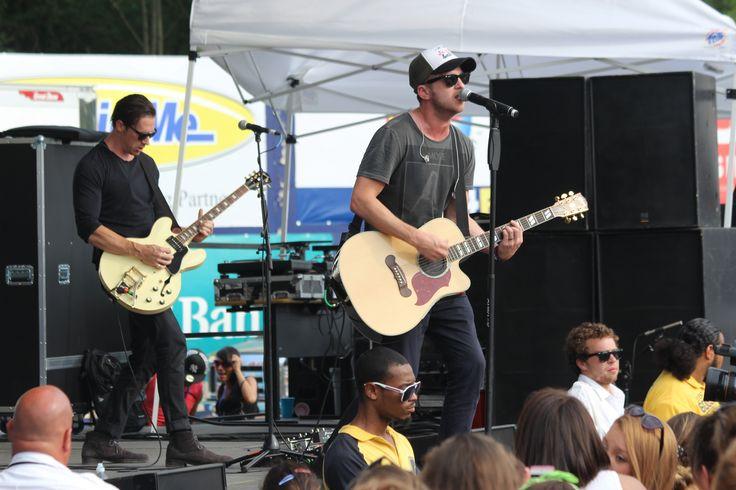 OneRepublic rocking out at KFest 2013.