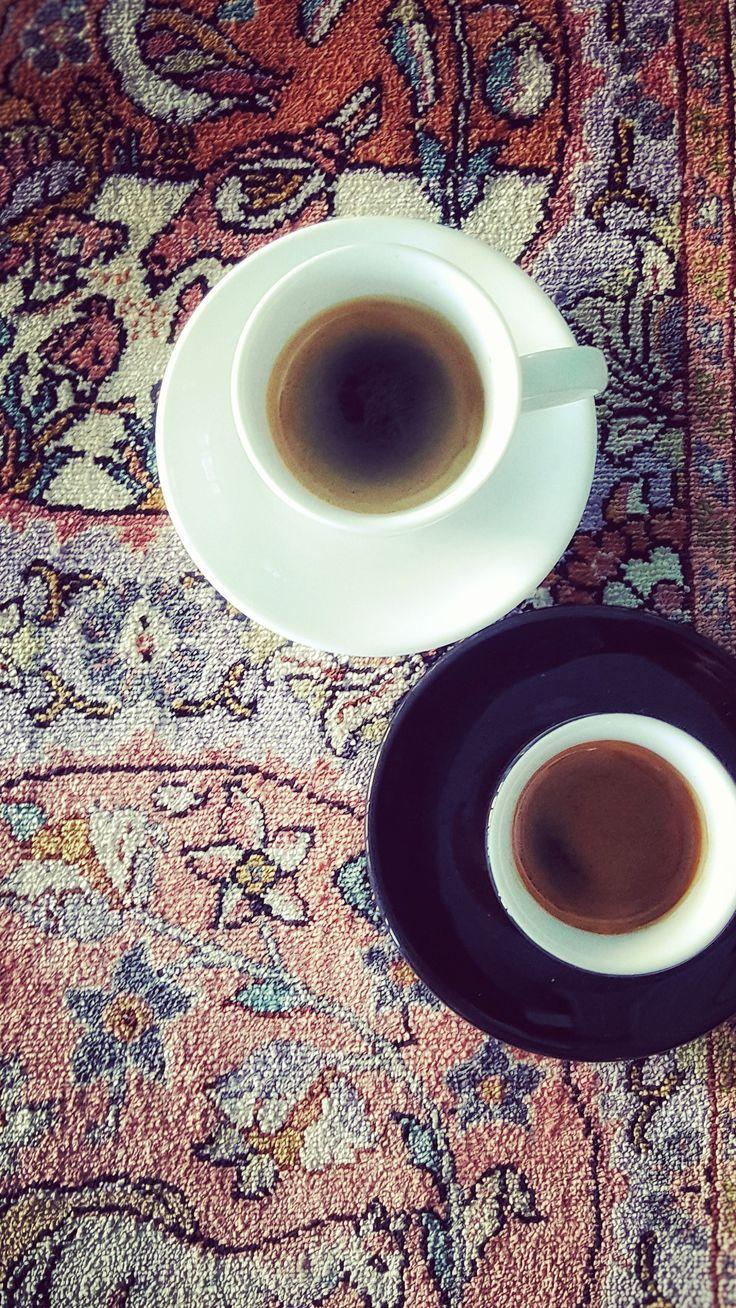 Espresso & Persian Rugs