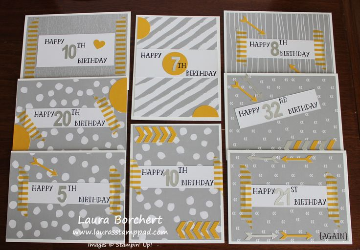 2017   December 2016 Paper Pumpkin Kit – Another Great Year!!!   Washi Tape Cards, www.LaurasStampPad.com