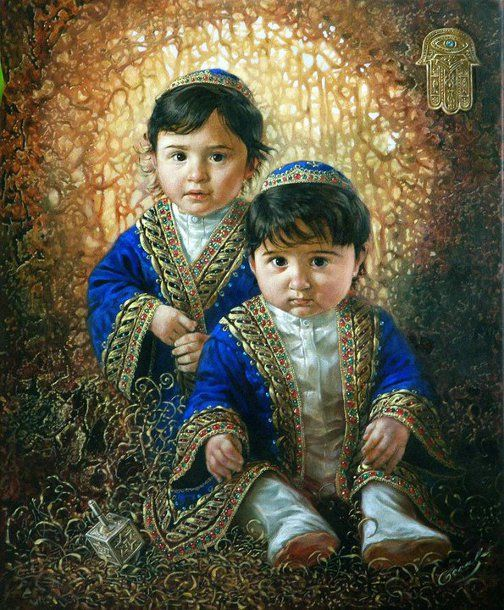 Michael Cheval (1966, Russian-born American) - Two Kings (Jacob and David) - Thx Marie-Louise: