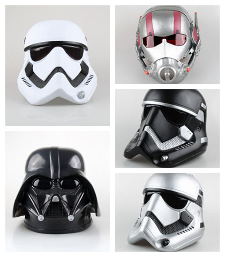 ==> [Free Shipping] Buy Best New Cosplay 1:1 Star Wars Darth Vader & STORM TROOPER and Ant-Man helmet mask simulation model toy Costume party prop kids gift Online with LOWEST Price | 32757986466