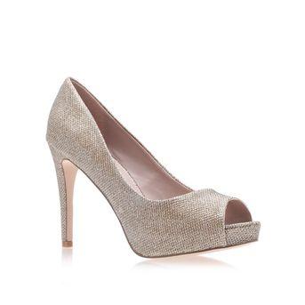 Lara Gold High Heel Court Shoes from Carvela Kurt Geiger