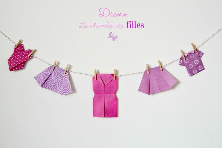 DIY : Vêtements en origami