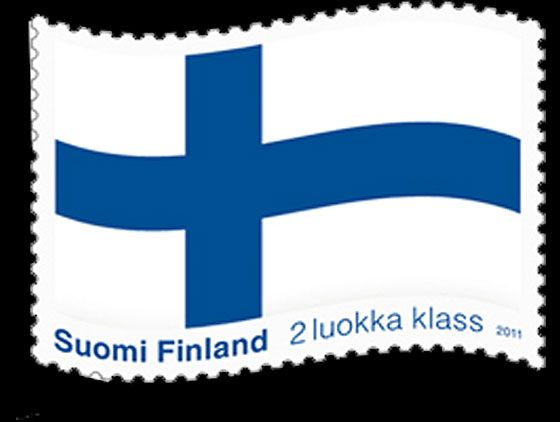The Blue Cross Flag | Official Finland Stamps | Start collecting Finland and other Nordic Stamps