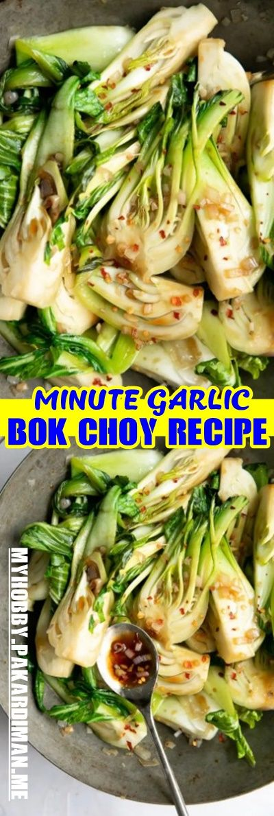 10 #MINUTE #GARLIC #BOK #CHOY #RECIPE Crisp fresh …