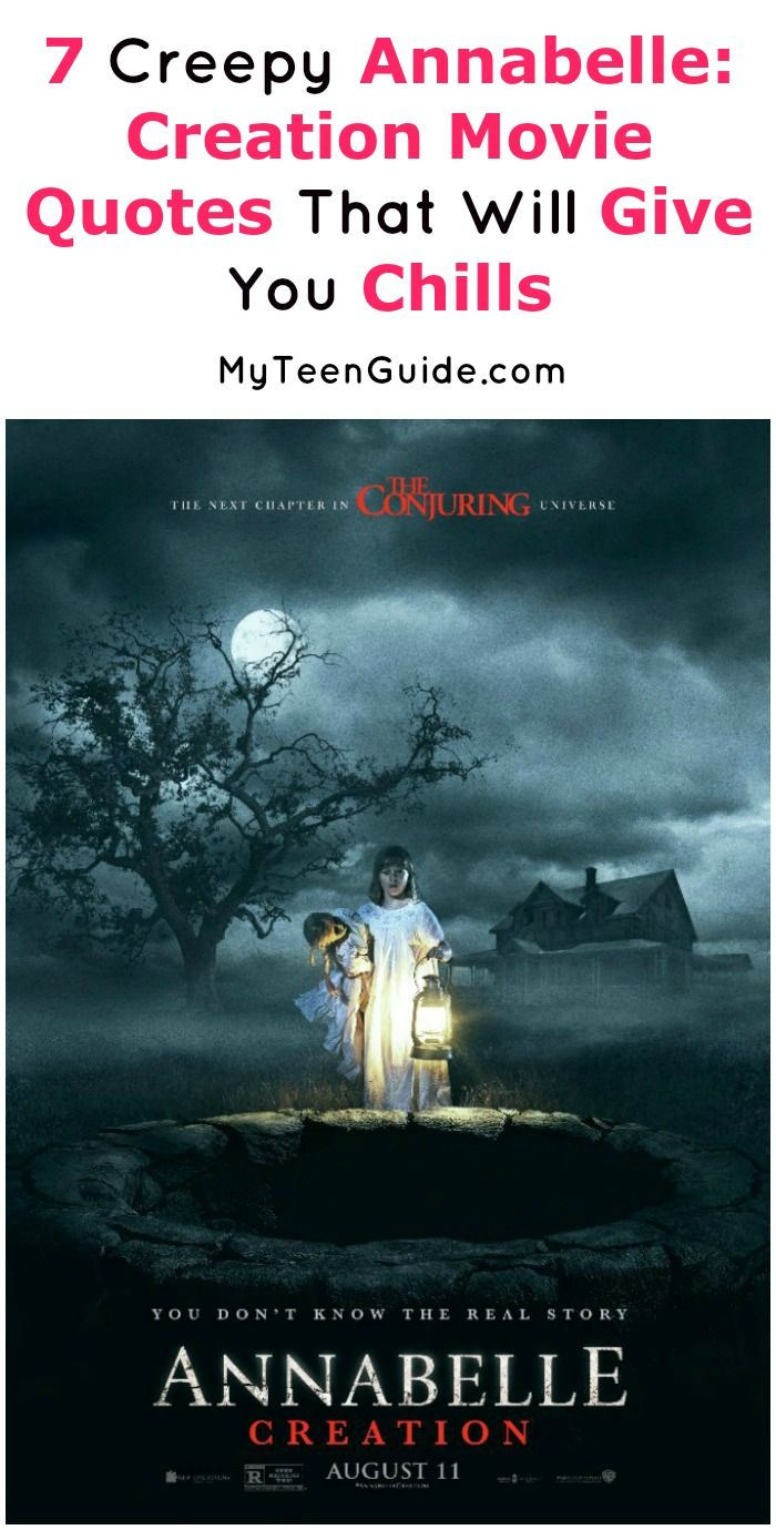 Looking for the creepiest Annabelle: Creation movie quotes? Check out these 7 lines from the flick that will absolutely give you chills!