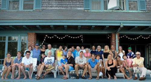 Love extended family gatherings...Boston, Cape Cod, where it all began...