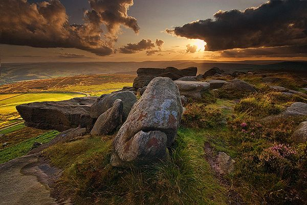 Stanage Edge - Peak District, Derbyshire. Because my roots and heart are here...