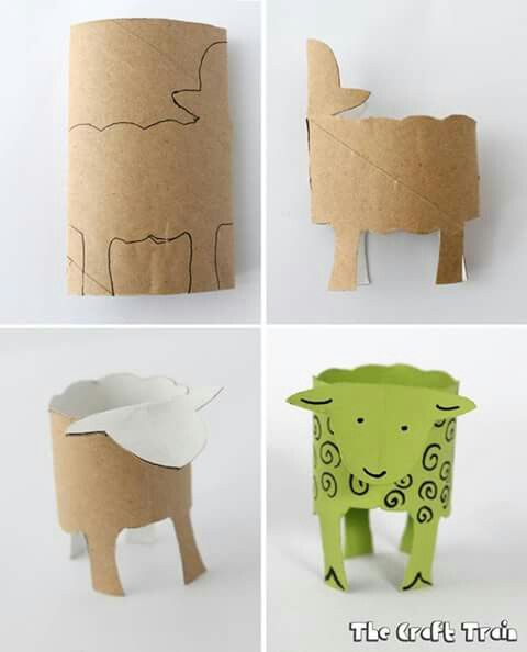 cardboard ideas crafts 1235 best animal crafts images on 1235