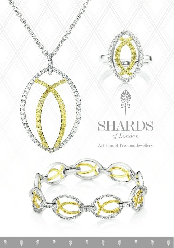 The Aurora Collection from Shards of London