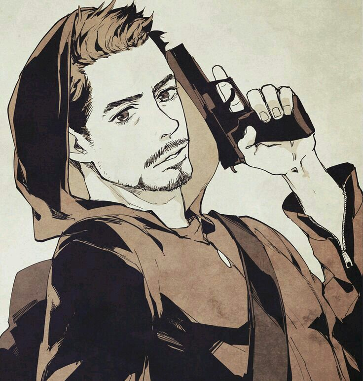 Tony Stark Iron-Man 3 ♡