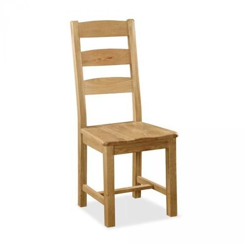 salisbury, oak, slatted, dining chair
