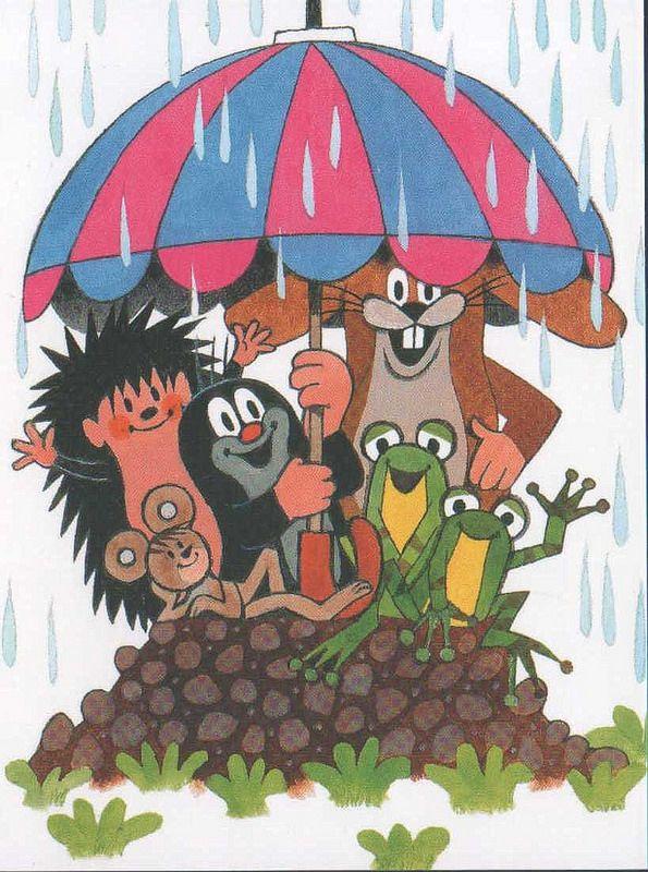 (2014-07) Muldvarpen holder paraply for de andre dyr