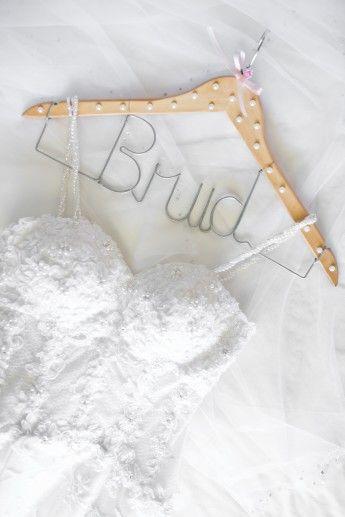 Hanger for bride.