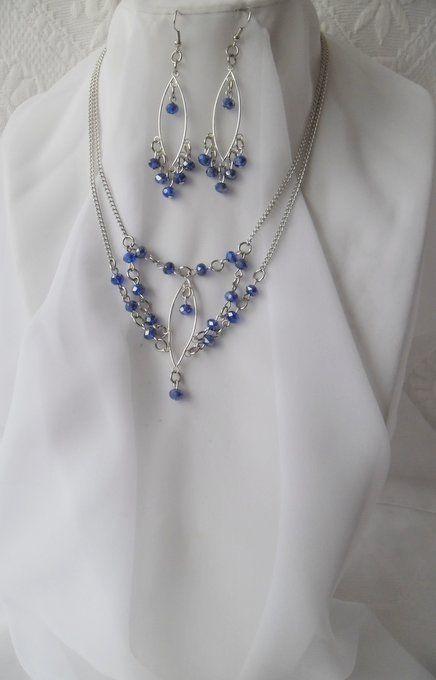 elegantly blue
