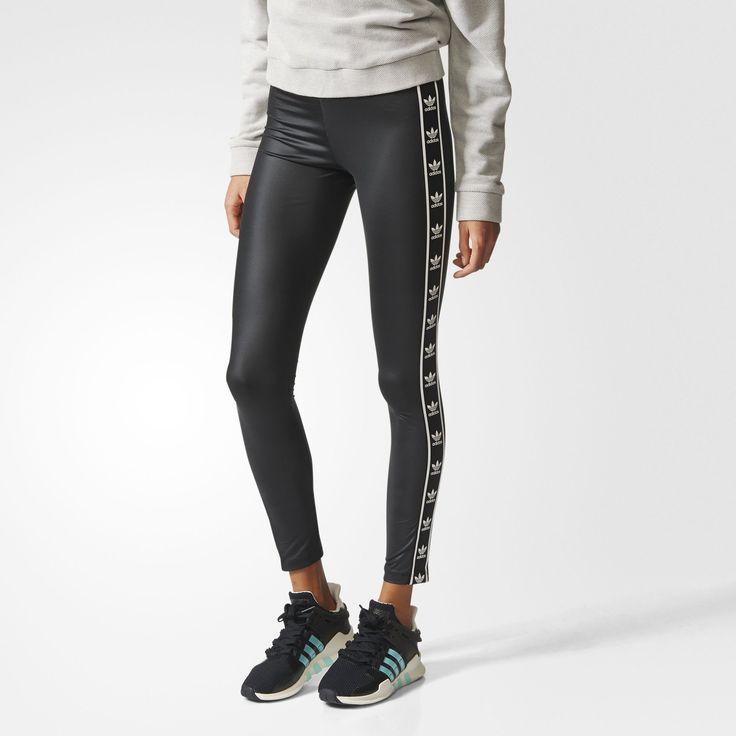 adidas -ORIGINALS ЛЕГГИНСЫ  3.390р. Цвет BLACK (BJ8360)