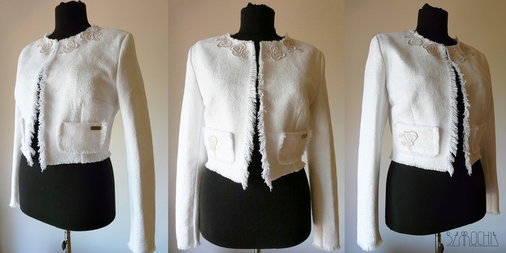 woman cotton blazer