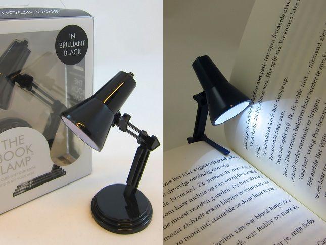 Dit retro boekenlampje zorgt voor optimaal leescomfort!