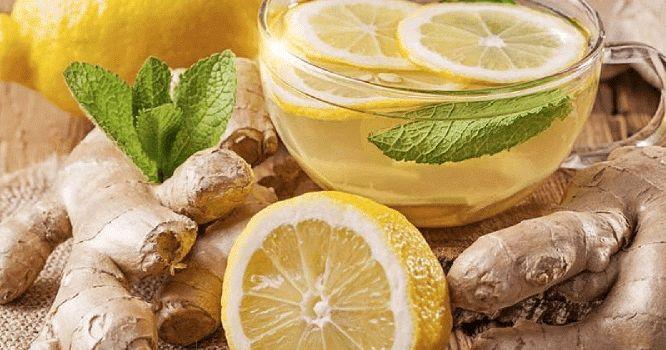Limonada de Chá Verde com Gengibre: Mistura comprovada que funciona como mágica - Nossa Dieta dos Pontos